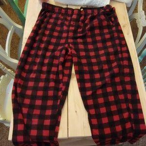 Men's fleece Pajama Bottom
